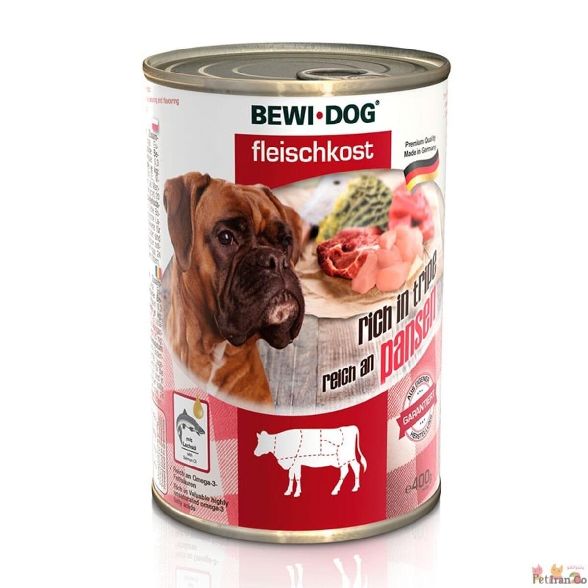 کنسرو غذای سگ